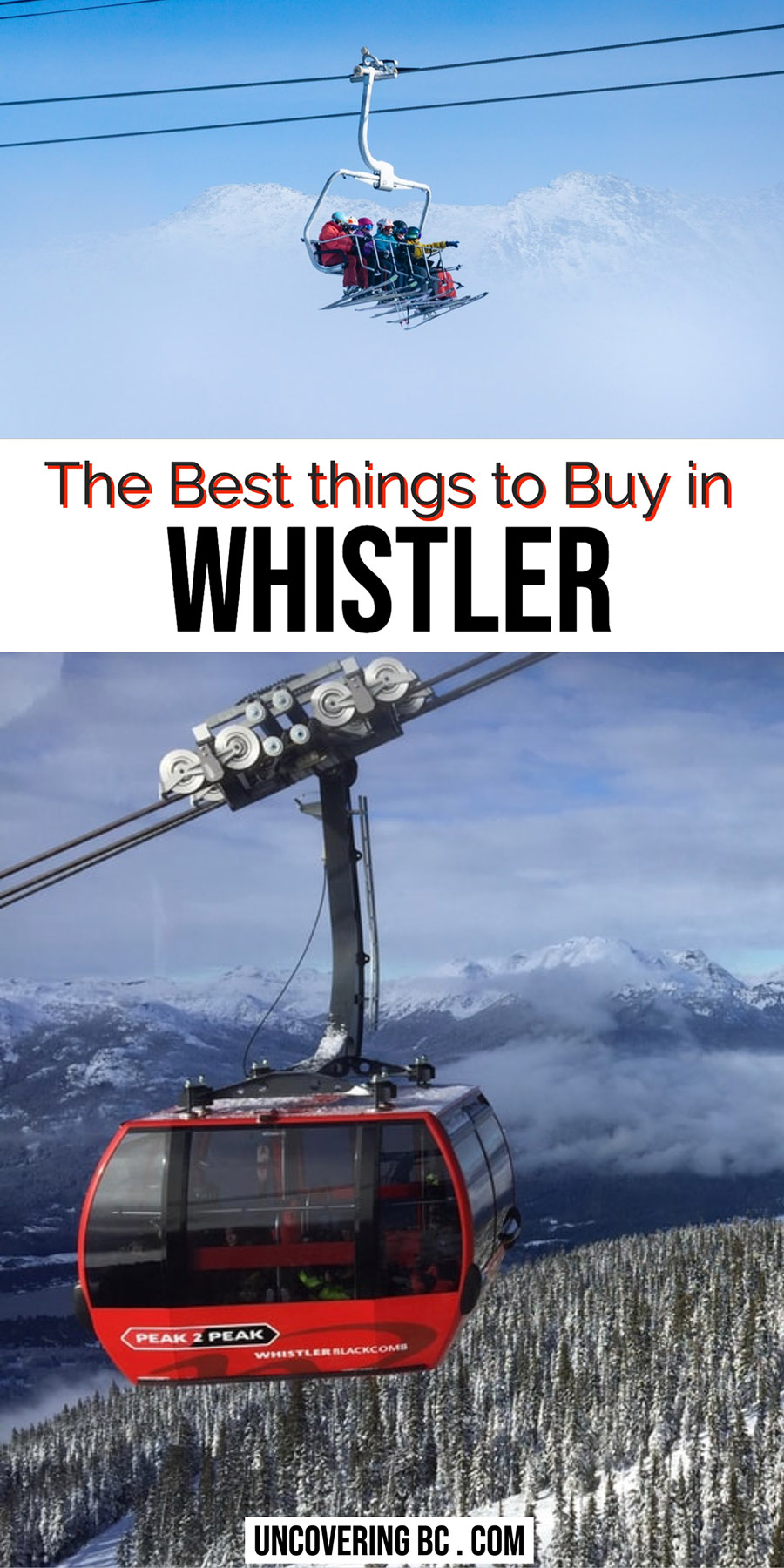 The Best Things to buy in Whistler