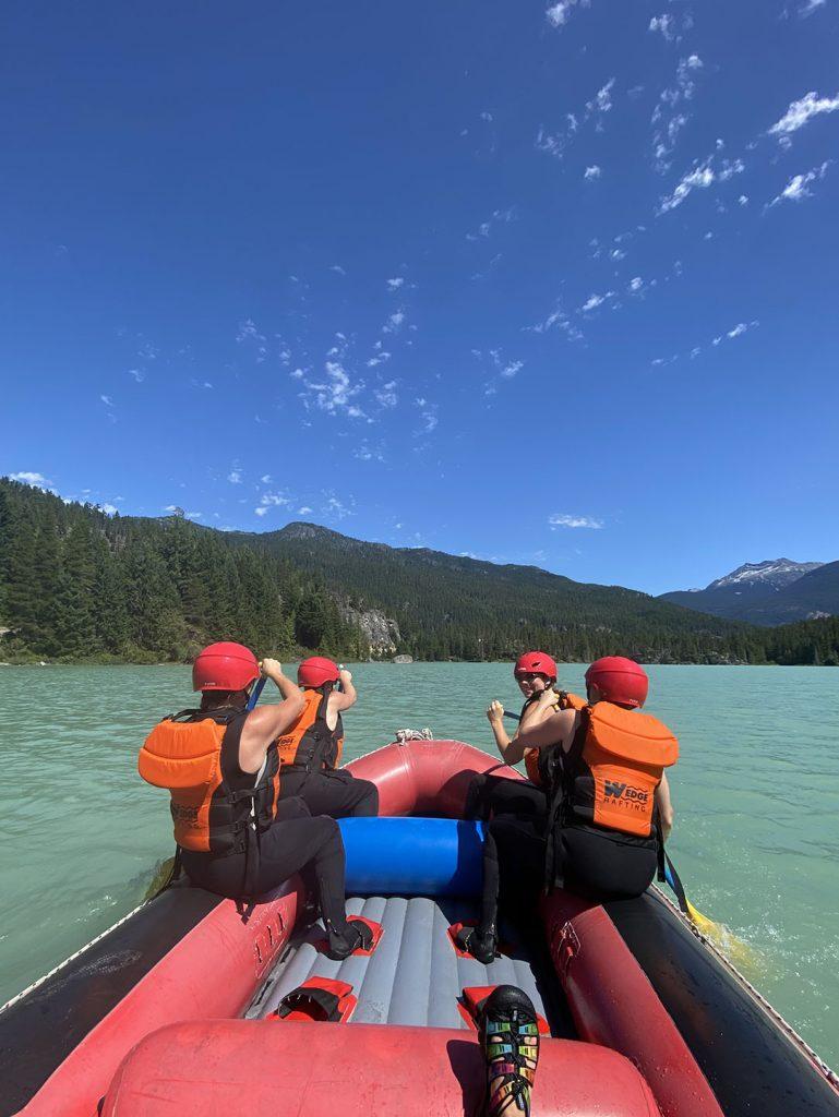 Whistler - Green Lake Green River Rafting Wedge Rafting TAG Adventures