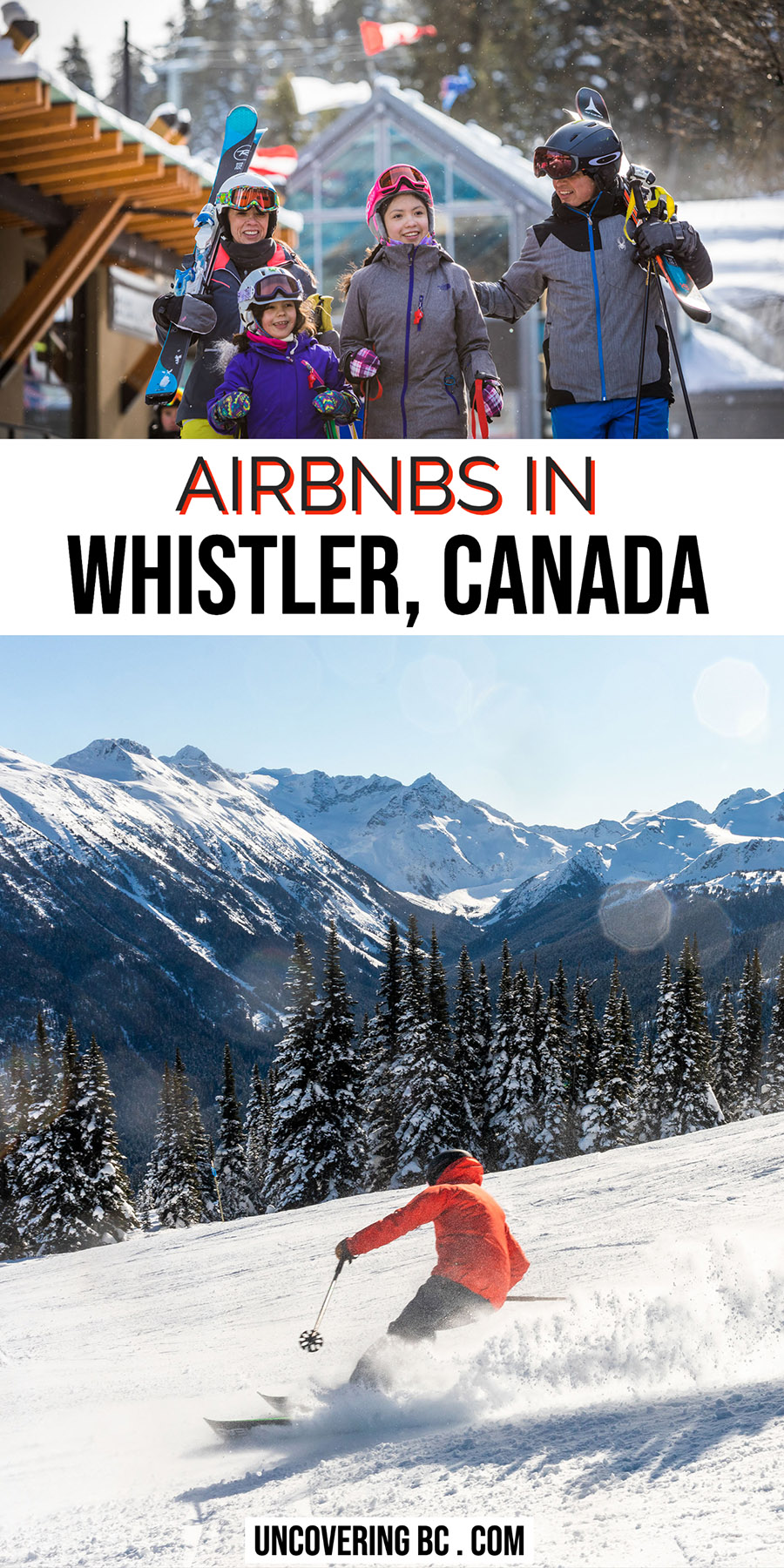 Condo renal Whistler Airbnb