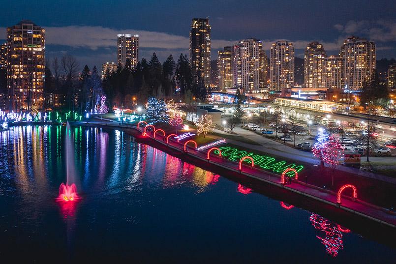 Coquitlam - Lafarge Lake Lights Holiday Event