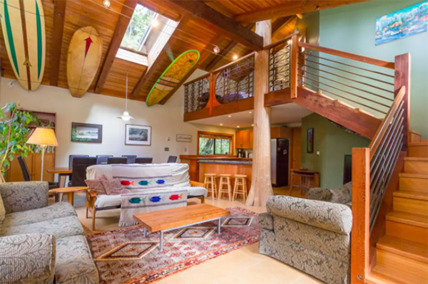 Tofino Vancouver Island Surf Cabin Rental