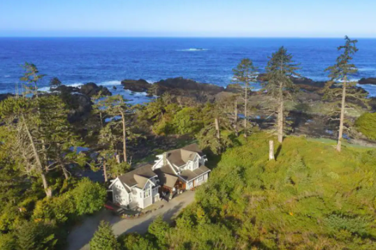 Beach House Ucluelet AirBNB