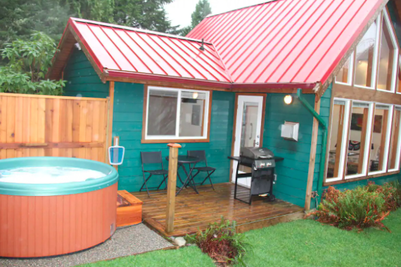 AirBNB Ucluelet Cabin for Rent