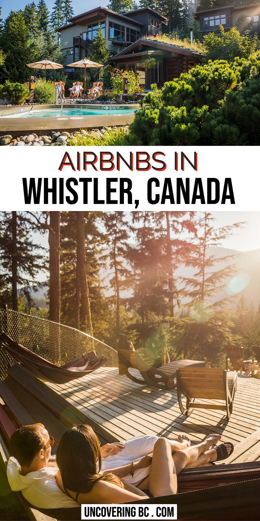 Air Bnb Whistler House Rent