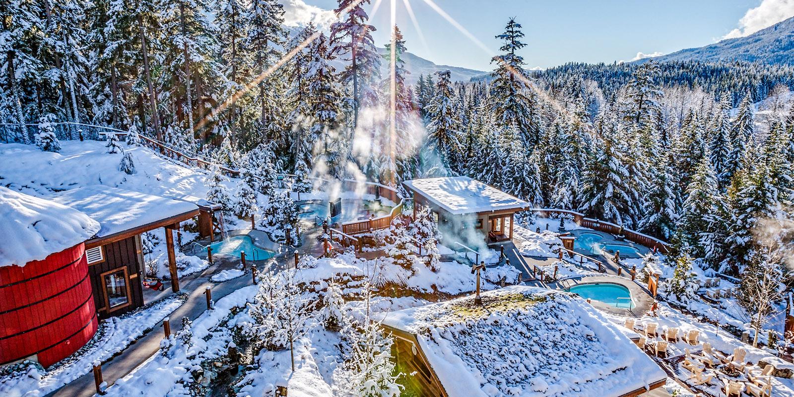 Whistler British Columbia Snowy Accommodations