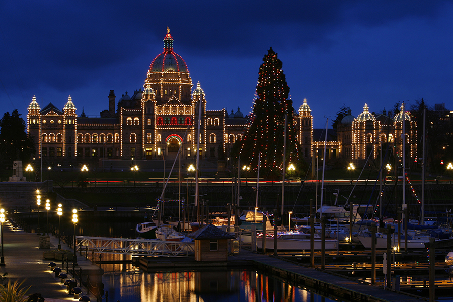 Parliament Building christmas events victoria bc
