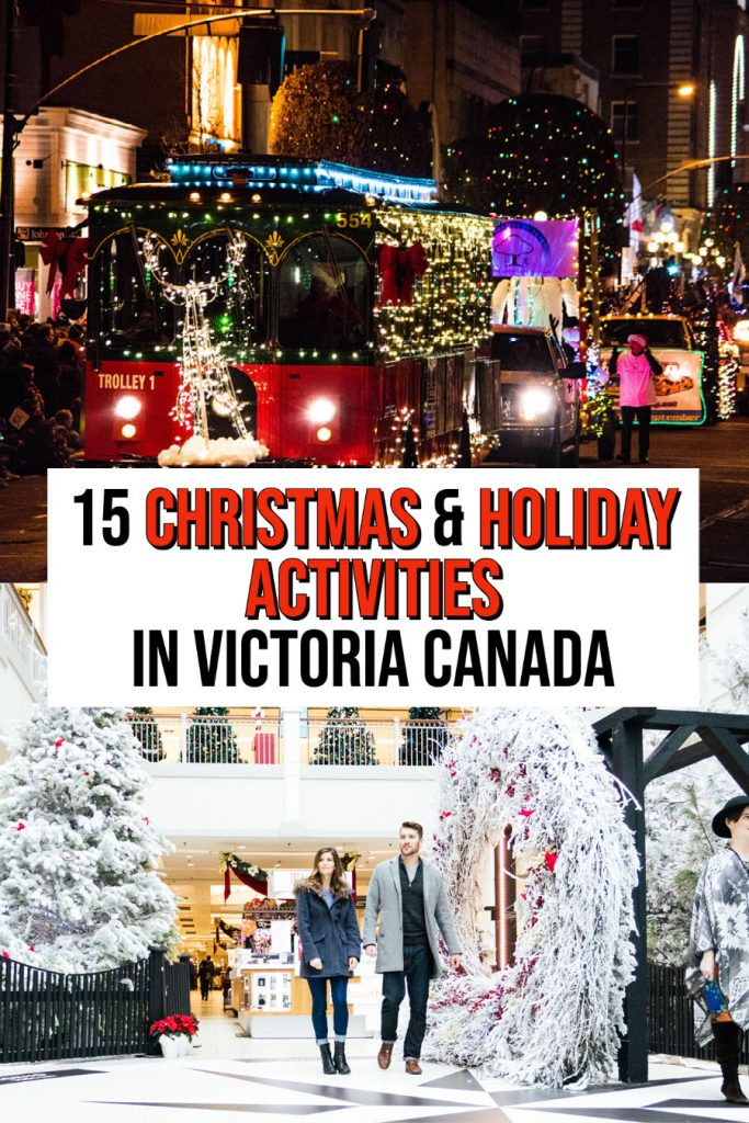 Victoria at Christmas things to do