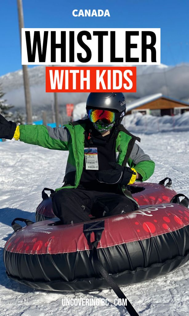 Best Things to do in Whistler with kids.