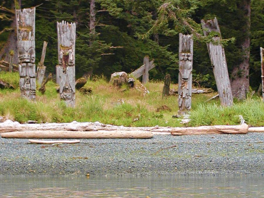 Canadian Islands Haida Gwaii.