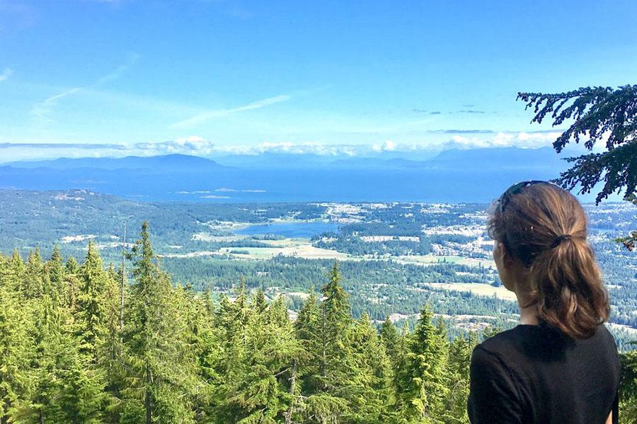 Vancover Island - Nanaimo - Mount Benson.