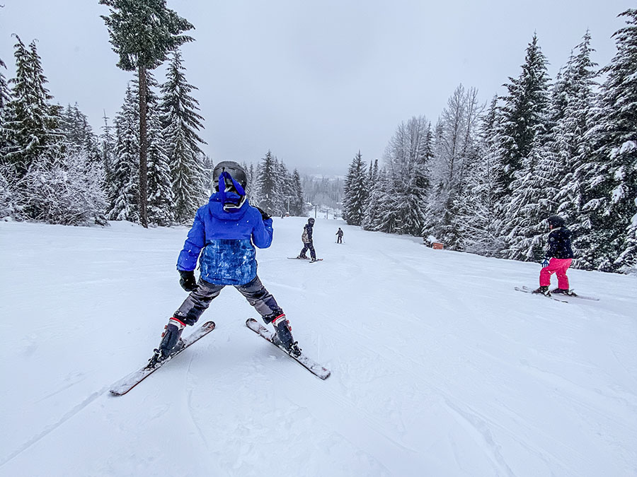 Skiing Whistler Blackcomb Magic Chair