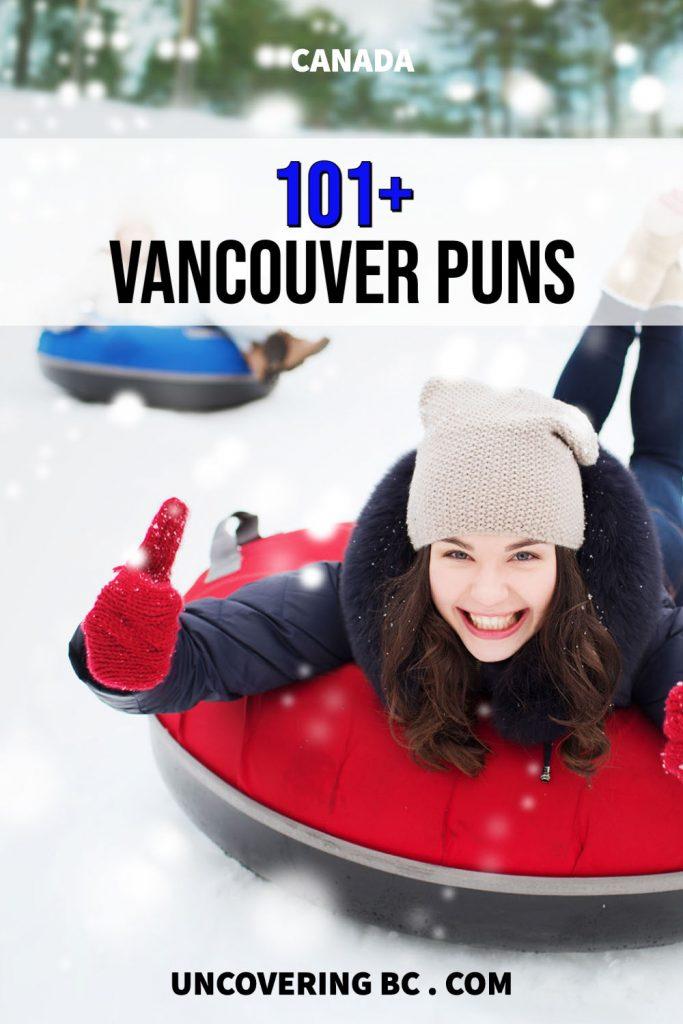 Vancouver puns.
