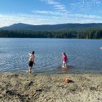 BC Beaches - Whonnick Lake.