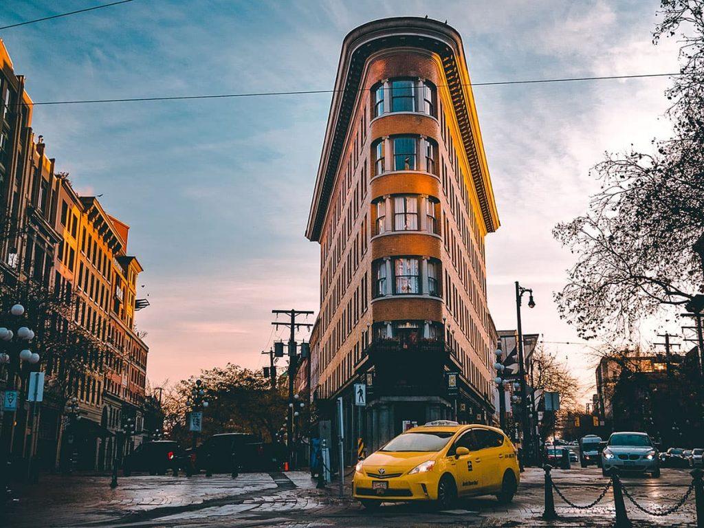 Flatiron Building Vancouver Instagram spot