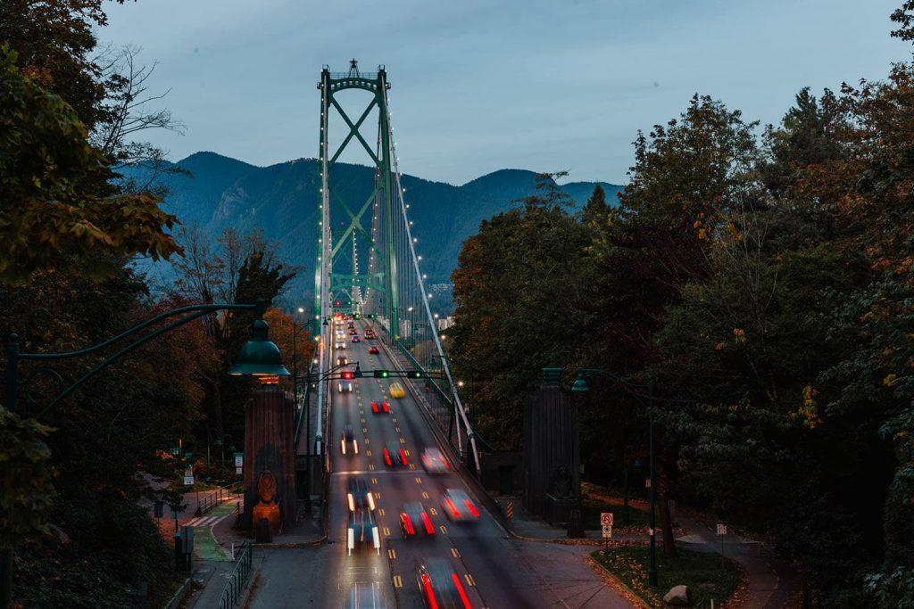 Vancouver - Prospect Point Lions Gate Bridge