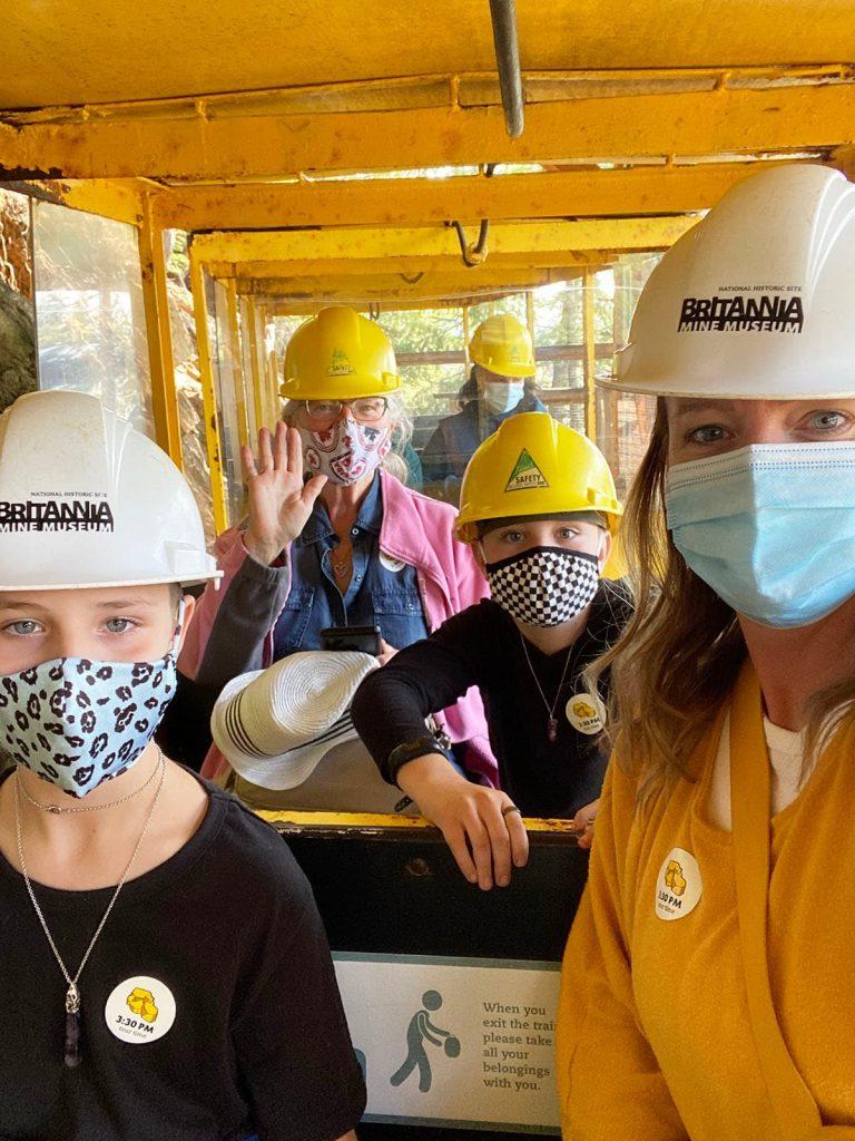 Britannia Mine Muesum Train Tour Underground Copper Mine