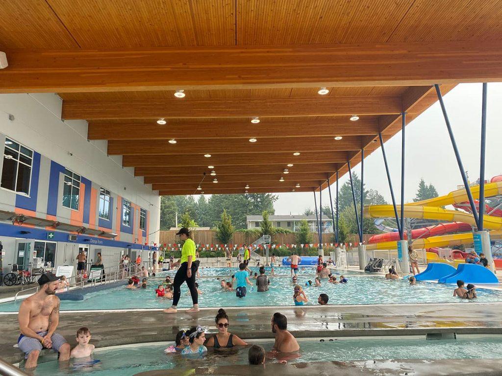 Langley Swimming Pools - Aldergrove Outdoor Pool