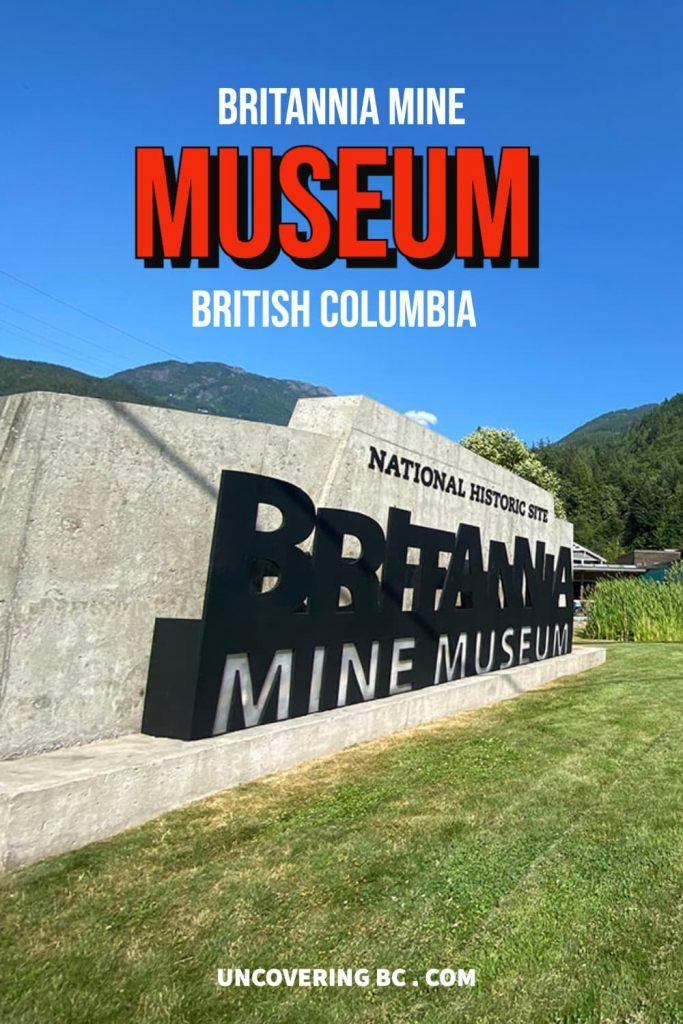 BRITANNIA MINE - National Historic Site British Columbia.