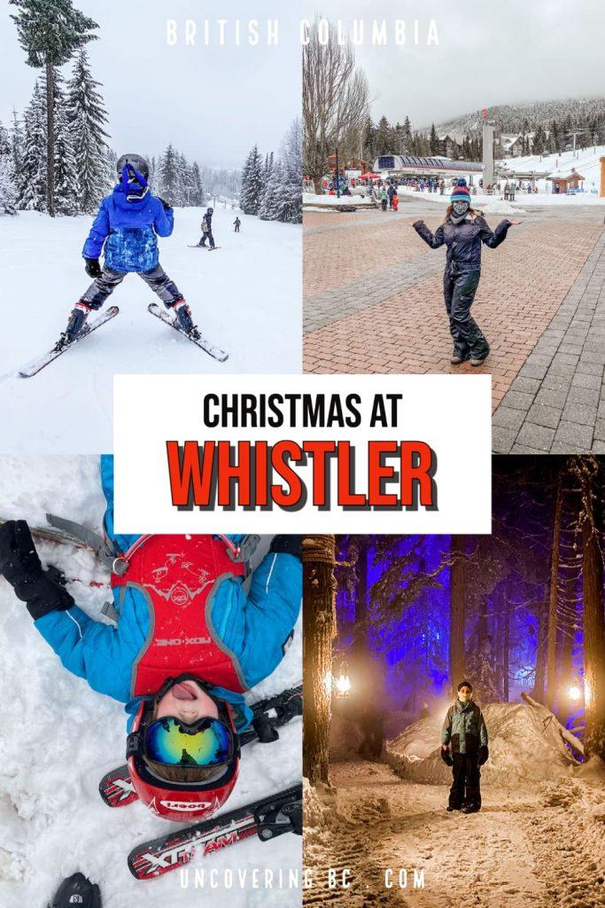 Whistler Christmas planning guide.