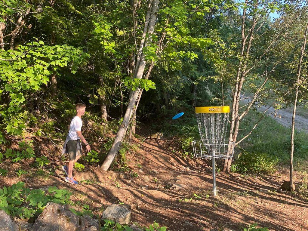 Revelstoke Mountain Frisbee Golf Course