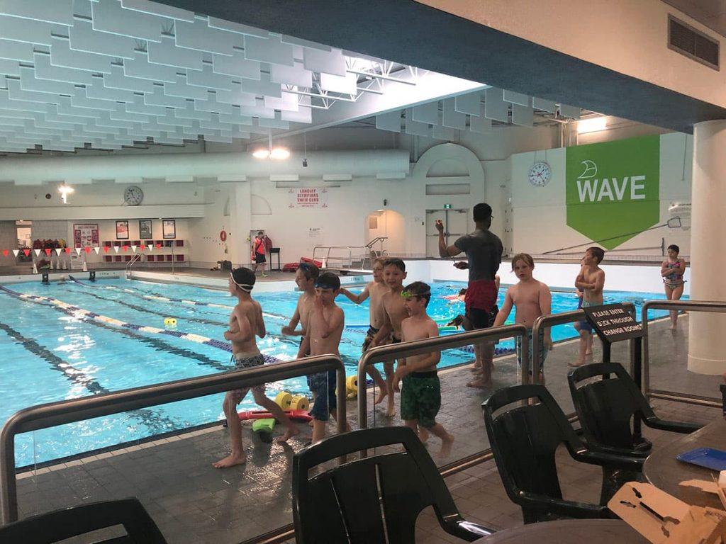 WC Blair Swimming Pool Langley Indoor