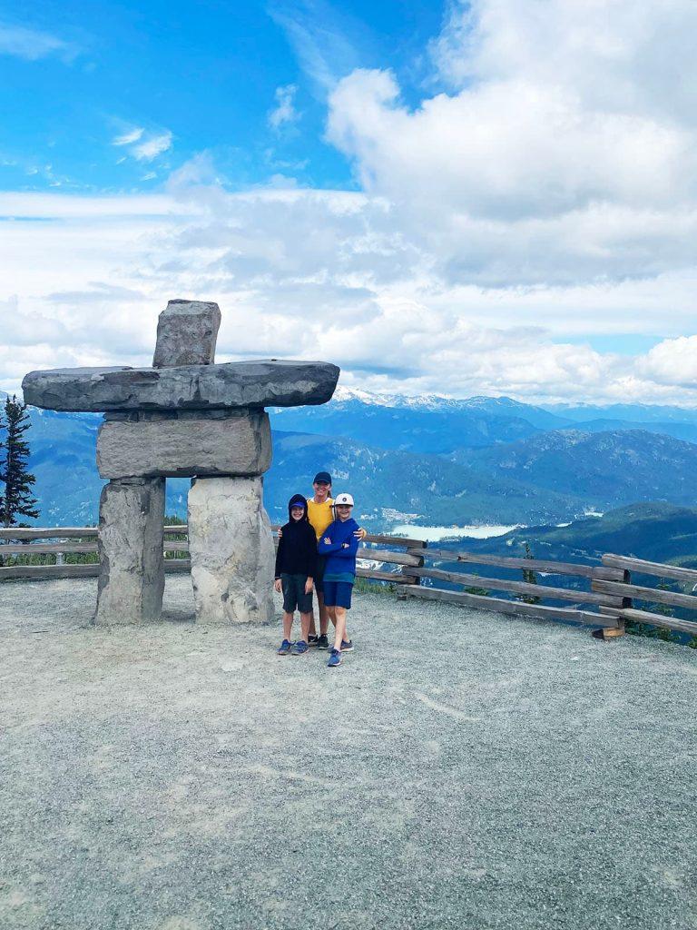 Whistler Mountain Innukshuk Photo spot.
