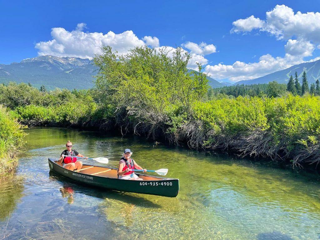 Whistler - River of Golden Dreams Canoe