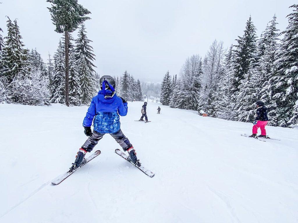 Whistler - Skiing.