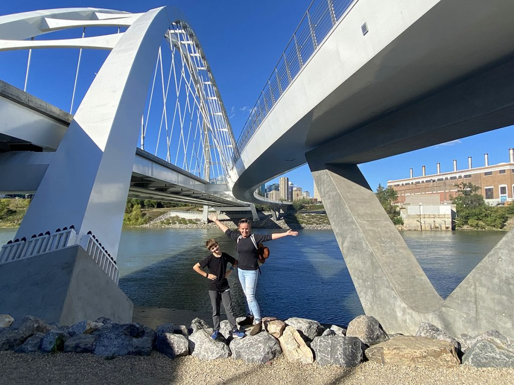 Edmonton - River Bridge View