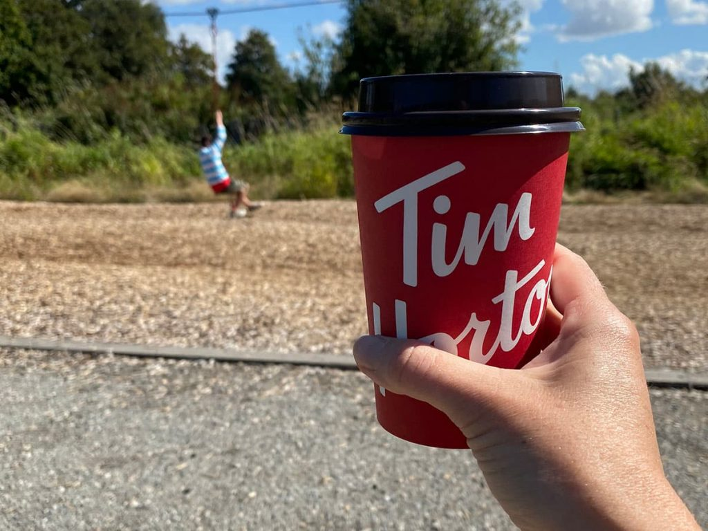 Tim Hortons cup in Canada.